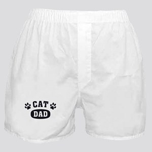 Cat Dad [b/w] Boxer Shorts